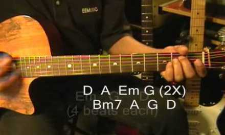 SHADOW Austin Mahone Guitar Lesson How To Play On Guitar