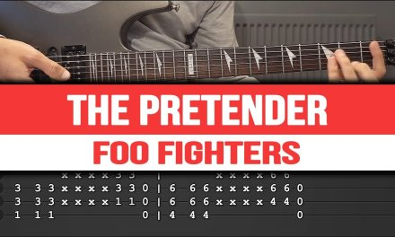 Foo Fighters – The Pretender guitar lesson (guitar tutorial)