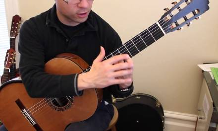 Beginner Warm-Up No. 1 for Classical Guitar
