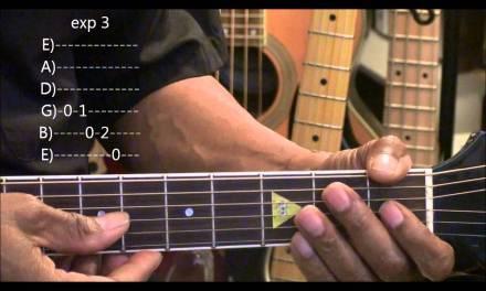 How To Play Your Very First BLUES GUITAR SOLO Prt2 BIB EricBlackmonMusicHD BIB