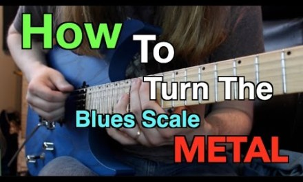 How To Turn The Blues Scale METAL!! ( 5 Licks With TABS!)