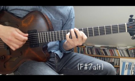 """Jazz Guitar Mini Lesson #14 – """"My Ideal"""" chord melody"""