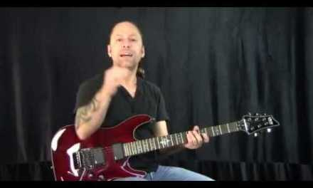 Steve Stine Guitar Lesson – How to Palm Mute and Hand Placement
