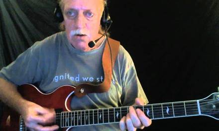 "How to Play ""Shaky Ground"" – Blues Guitar Lesson – Red Lasner"