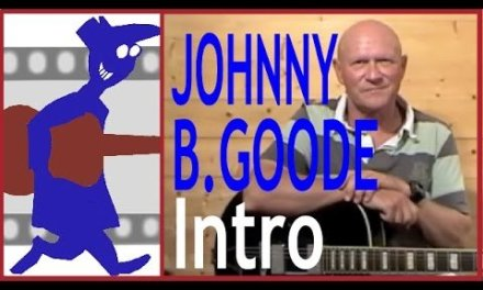 Johnny B Goode Intro Guitar Lesson