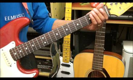 Guitar Fingering Exercise #1 How To Play Chromatic Notes Lesson EricBlackmonMusicHD