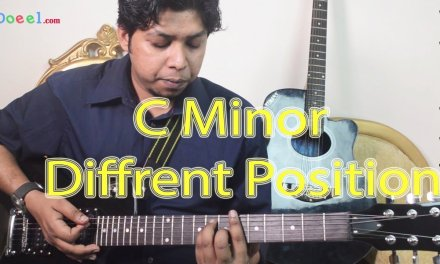 C Minor Chords Different Position – Guitar Lesson For Beginner