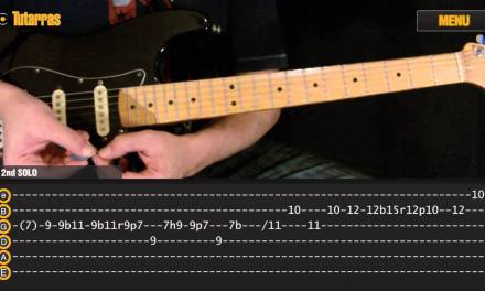 """How to play """"Comfortably numb"""" Pink Floyd – Guitar Lesson"""