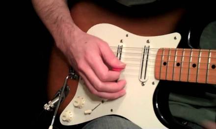 Picking Hand Positioning For Fast Playing Styles – Intermediate Guitar Lesson