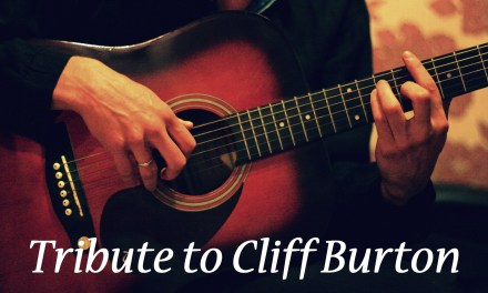 (Anesthesia) Pulling Teeth on ACOUSTIC GUITAR | Tribute to Cliff Burton by Andriy Vasylenko