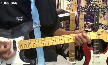 777-9311 The Time Electric Funk Guitar Cover FunkGuitarGuru Prince