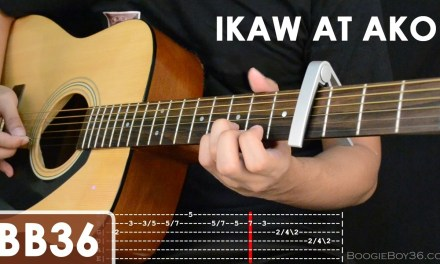 Ikaw At Ako – TJ Monterde Guitar Tutorial (intro lead/chords/strumming/etc)