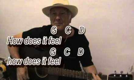 Like A Rolling Stone – Bob Dylan cover – easy chords guitar lesson with on-screen chords and lyrics.