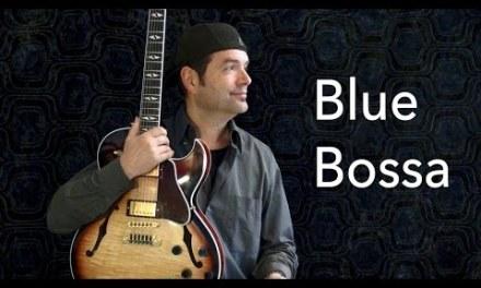 Blue Bossa – Achim Kohl – Jazz Guitar Improvisation with Tabs