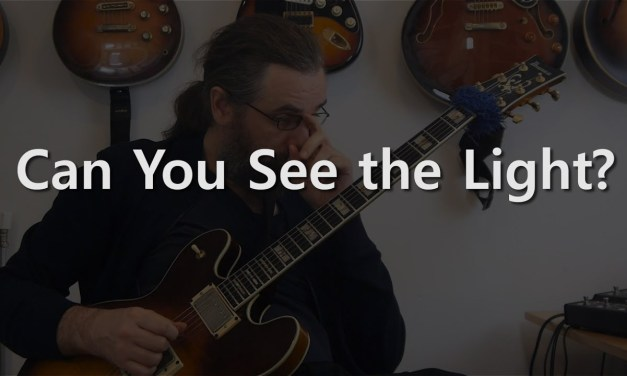 Can You See The Light? – Guitar (Chord) solo on There is No Greater Love