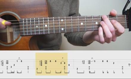 James Arthur – Say You Won't Let Go – Fingerstyle Guitar TABS Tutorial (Lesson) | Mattias Krantz