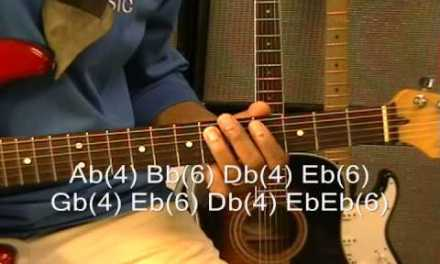 Stevie Wonder SUPERSTITION Guitar Lesson Standard Tuning How To Play R&B Style On Guitar