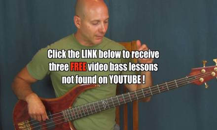 beginner  bass guitar lesson minor pentatonic scale  connecting the forms extended scale