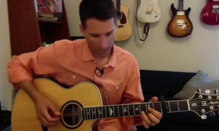 Fire and Rain Chords, Tab, Guitar Lesson