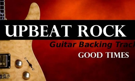 Upbeat Rock Guitar Backing Track – Good Times