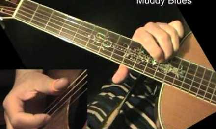 Muddy Blues – fingerstyle + TAB! Acoustic Guitar lesson