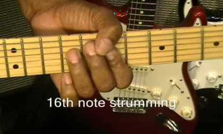 How To Play Daft Punk Get Lucky Scratch Version Guitar Lesson Nile Rodgers R&B