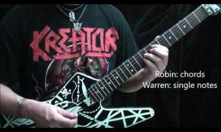Ratt You're in Trouble guitar lesson