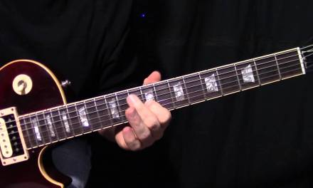 """how to play """"Feel Your Love Tonight"""" by Van Halen – guitar lesson rhythm & fills"""