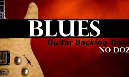 BLUES Guitar Backing Track – No Doz