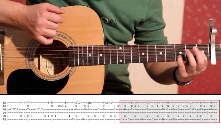 Daavka – ABBA Happy New Year (Guitar Lesson Part 2) Tutorial 2