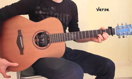 Hello Adele Acoustic Guitar Lesson with Percussive Approach Easy Chords