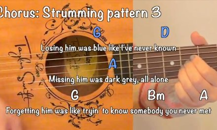 """""""Red"""" – Taylor Swift EASY Guitar Tutorial/Chords"""