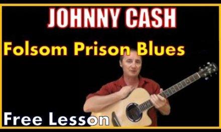 Free Lesson Folsom Prison Blues By Johnny Cash