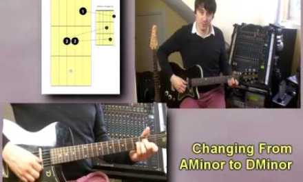Absolute Beginners Guitar Lesson 4 – HOW TO CHANGE BETWEEN CHORDS