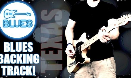Texas Style 12 Bar Blues Guitar Backing Track in G