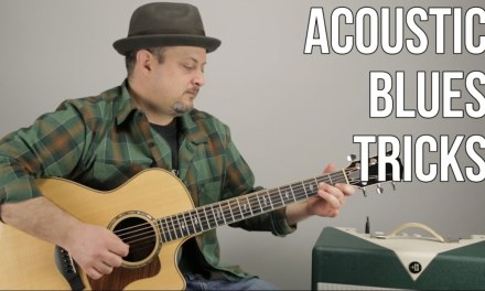 Acoustic Blues Chord Progression and Licks – Acoustic Blues Guitar Lesson