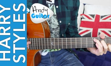 Harry Styles – Sign Of The Times Guitar Lesson Tutorial EASY Chords + No Capo