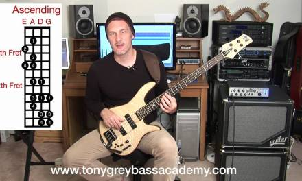 Bass Guitar Lesson – Lydian Mode – Tony Grey