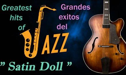 """Satin Doll. """"Duke Ellington"""". Relax music-Jazz guitar cover."""