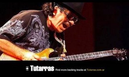 Carlos Santana – i love you much too much [Guitar Backing tracks]