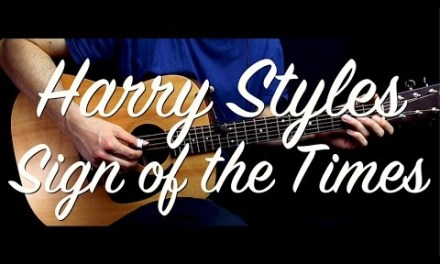 Harry Styles – Sign of the Times guitar Lesson/Tutorial /guitar cover  w Chords by How to play easy