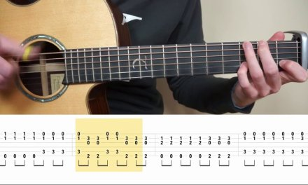 The Chainsmokers & Coldplay – Something Just Like This – Fingerstyle Guitar TABS Tutorial (Lesson)