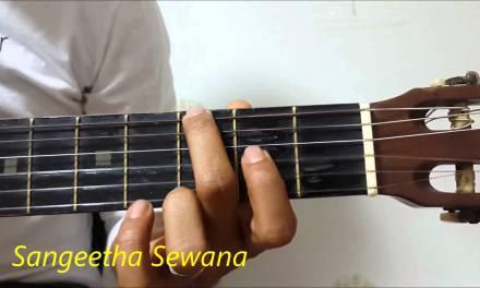 Asela with Sinhala Guitar Lesson 34 Sanda Tharaka Handawee Guitar Lesson 0768824390