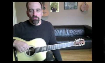 Eric Skye -Guitar Lesson On Using Scales