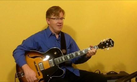 Walking Bass Lines – #3 Jazz Blues in C – Guitar Lesson – John Horne
