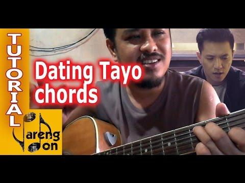 Dating tayo lyrics and easy chords