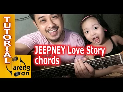 Jeepney Love Story chords \'Yeng Constantino\' OPM acoustic guitar ...