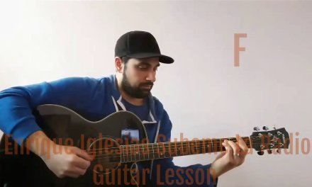 Enrique Iglesias – Subeme La Radio – Guitar Lesson/Acoustic Tutorial