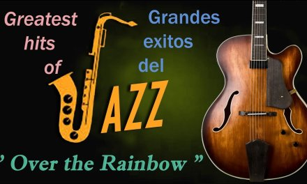 """Over the Rainbow. """" Harold Arlen """". Chord Melody – Relax music. Jazz guitar cover."""