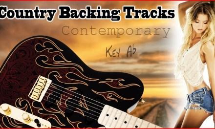 Key of Ab Country Backing Track Jam Track 4/4 Practice guitar, fiddle, mandolin, banjo & bass licks
